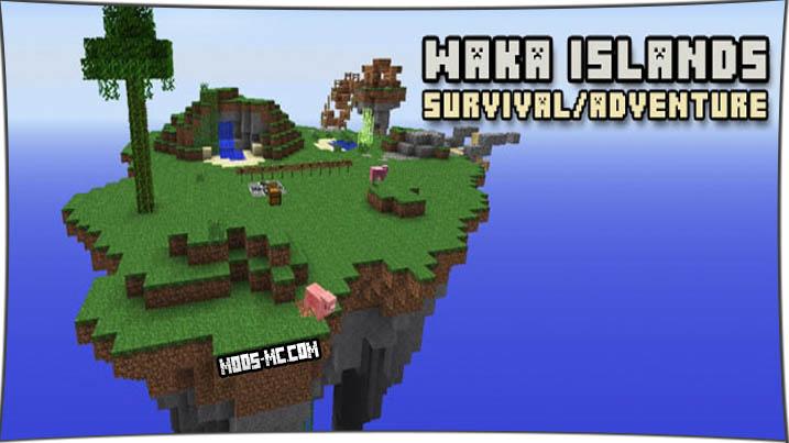 Waka Islands 1.12, 1.10.2, 1.8, 1.7.10