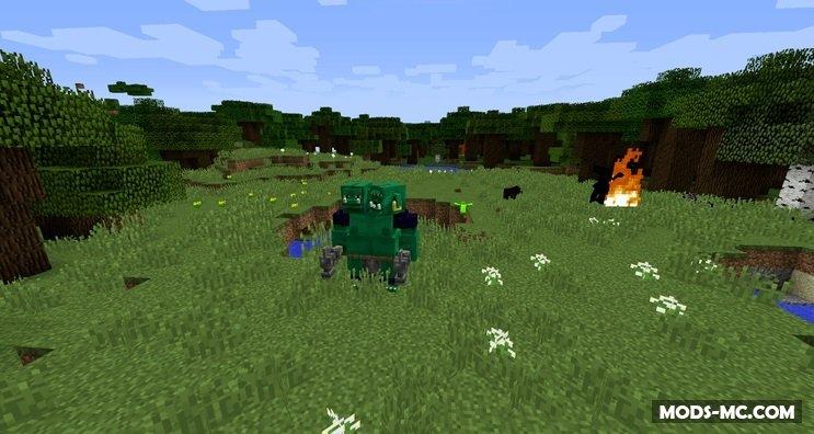Скачать моды на майнкрафт 1.7.10 на животных mo creatures