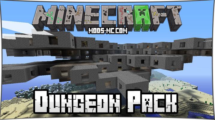Dungeon Pack - мод на данжи 1.8, 1.7.10
