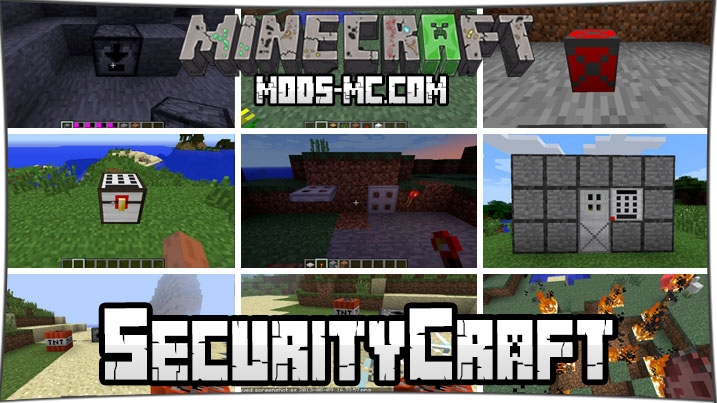 SecurityCraft 1.16.2, 1.15.2, 1.12.2, 1.7.10