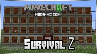 Survival Z Pack - мод на автоматы 1.7.10