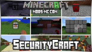 SecurityCraft 1.14.4, 1.12.2, 1.11.2, 1.10.2, 1.7.10