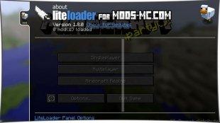 LiteLoader 1.12.2, 1.12, 1.11.2, 1.10.2, 1.8, 1.7.10