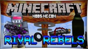 Rival Rebels - мод на ядерные бомбы 1.7.10