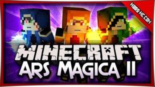 Ars Magica 2 - мод на магию 1.11.2, 1.10.2, 1.7.10