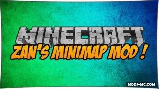Zan's Minimap 1.11.2, 1.10.2, 1.7.10