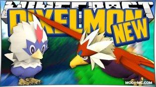 Pixelmon - мод на покемонов 1.12.2, 1.10.2, 1.8, 1.7.10