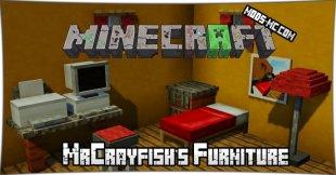 MrCrayfish's Furniture - мод на мебель 1.12.2, 1.12, 1.11.2, 1.10.2, 1.8, 1.7.10