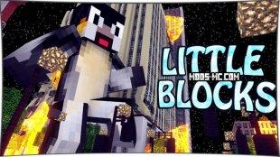 LittleBlocks - мод на маленькие блоки 1.7.10