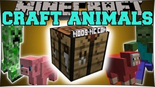 Craftable Animals 1.11.2, 1.10.2, 1.8, 1.7.10