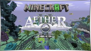 The Aether - мод на Рай 1.12.2, 1.11.2, 1.10.2, 1.7.10