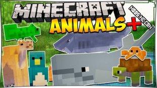 Animals Plus - мод на животных 1.8, 1.7.10