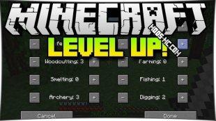 Level Up 1.12.2, 1.12, 1.11.2, 1.10.2, 1.8, 1.7.10