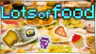 Lots of Food 1.10.2, 1.8, 1.7.10
