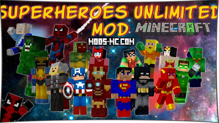 Superheroes Unlimited 1.7.10