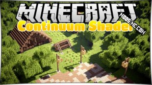 Continuum Shaders 1.12.1, 1.12, 1.11.2, 1.10.2, 1.8, 1.7.10