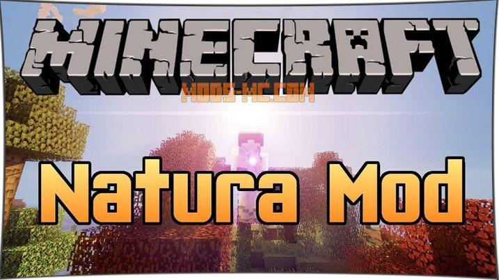 Natura 1.12.2, 1.12, 1.11.2, 1.10.2, 1.7.10