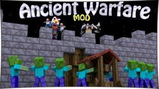 Ancient Warfare - мод на осадные орудия 1.12.2, 1.7.10