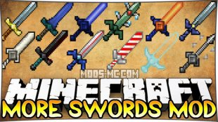 More Swords - мод на мечи 1.12.2, 1.10.2, 1.8, 1.7.10
