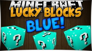 Lucky Block Blue 1.8, 1.7.10