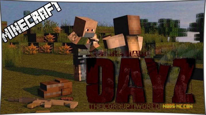 Minecraft 1. 7. 10 | last days mod v0. 28 | early alpha priview | gun.