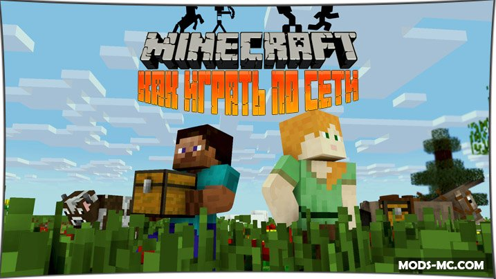 Как играть в Minecraft по сети с другом