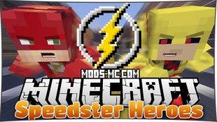 Speedster Heroes 1.12.2, 1.12, 1.10.2
