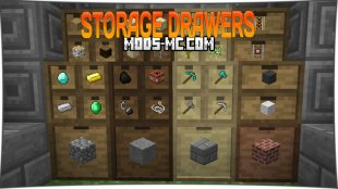 Storage Drawers 1.16.2, 1.15.2, 1.12.2, 1.7.10