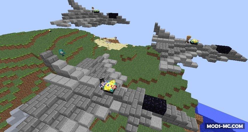Скачать Aircraft (Zeppelin) Mod для Minecraft 1.7.10