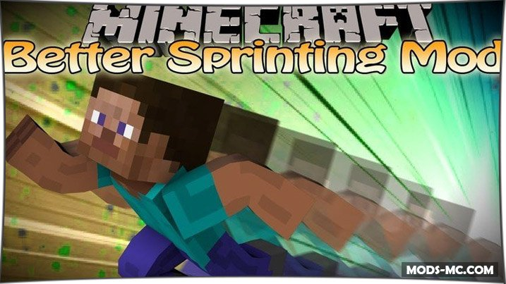 Better Sprinting 1.14.4, 1.13.2, 1.12.2, 1.11.2, 1.7.10