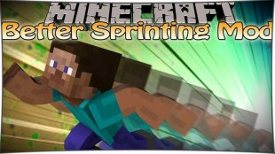 Better Sprinting 1.14.2, 1.13.2, 1.12.2, 1.11.2, 1.7.10