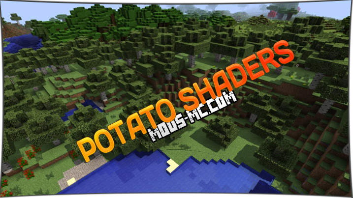 Potato Shaders 1.14.4, 1.12.2