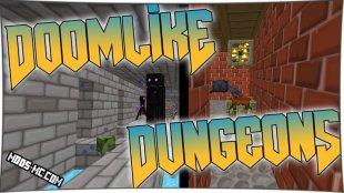 Doomlike Dungeons 1.12.2, 1.11.2, 1.10.2, 1.8, 1.7.10