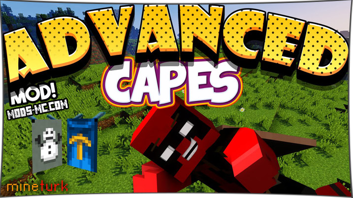 Advansed Capes - мод на плащи 1.12.2, 1.11.2, 1.10.2, 1.8, 1.7.10