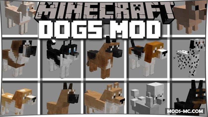 Doggy Style - мод на собак 1.8, 1.7.10