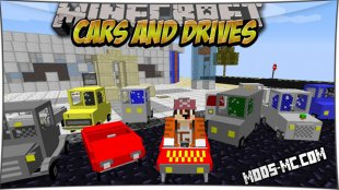 Cars and Drives - мод на машины 1.8, 1.7.10