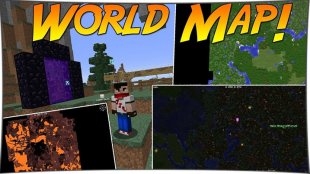Xaero's World Map 1.13.2, 1.12.2, 1.11.2, 1.10.2, 1.8, 1.7.10