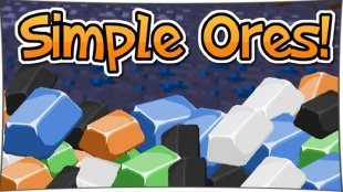 SimpleOres - мод на руды 1.12.2, 1.11.2, 1.10.2, 1.8, 1.7.10