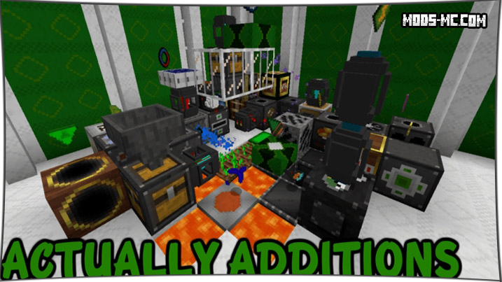 Actually Additions 1.12.2, 1.11.2, 1.10.2, 1.8, 1.7.10