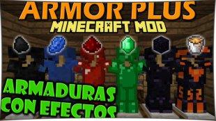 ArmorPlus - мод на броню 1.12.2, 1.11.2, 1.10.2