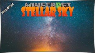 Stellar Sky - мод на звёздное небо 1.12.2, 1.11.2, 1.10.2, 1.8, 1.7.10