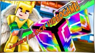 Lucky Block VideoGames - мод на Лаки Блок Видео Геймс 1.8, 1.7.10