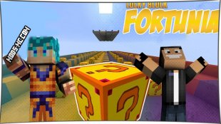 Lucky Block Fortunia - мод на Лаки Блок Фортуны 1.8, 1.7.10