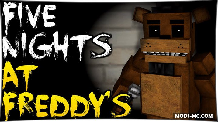 Five Nights at Freddy's - карта ФНАФ 1.12, 1.11.2, 1.10.2, 1.8, 1.7.10