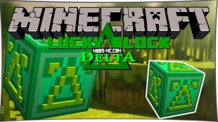 Lucky Block Delta - Дельта Лаки Блоки 1.8, 1.7.10