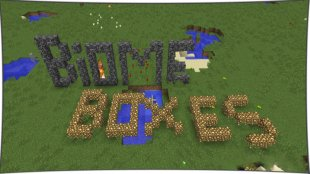 Biome Box 1.12.2, 1.11.2, 1.10.2, 1.8, 1.7.10