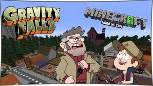 Gravity Falls - карта Гравити Фолз 1.12.2, 1.11.2, 1.10.2, 1.8, 1.7.10