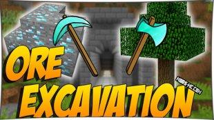 Ore Excavation 1.13.2, 1.12.2, 1.11.2, 1.10.2, 1.7.10