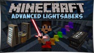 Advanced Lightsaber - мод на лазерные мечи 1.10.2, 1.8, 1.7.10