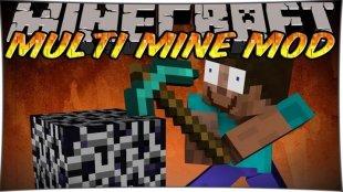 Multi Mine 1.12.2, 1.11.2, 1.10.2, 1.8, 1.7.10